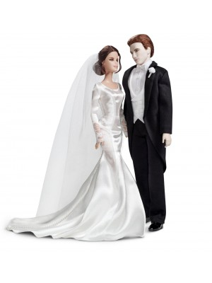 Barbie Collector The Twilight Saga Breaking Dawn Part 1 - BELLA & EDWARD WEDDING DAY Dolls