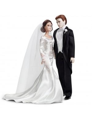 Barbie Collector The Twilight Saga Breaking Dawn Part 1 - BELLA & EDWARD WEDDING DAY Dolls