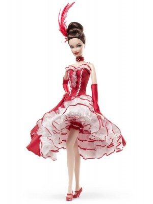 Gold Label Limited Edition Moulin RougeTM Barbie Doll
