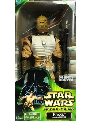 Star Wars Power of the Jedi Action Collection BOUNTY HUNTER BOSSK 12in Action Figure 076930264720