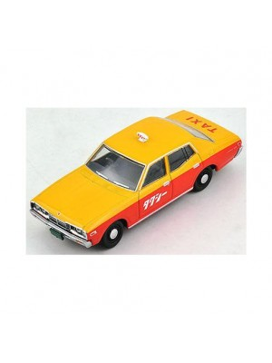 Tomica Limited Vintage LV-N123a Cedric Standard Taxi Type '75 (Yellow/Orange)