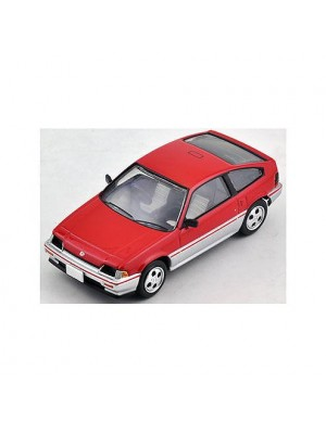 Tomica Limited Vintage LV-N124a Honda Ballade Sports CR-X 1.5i (Red/Silver)