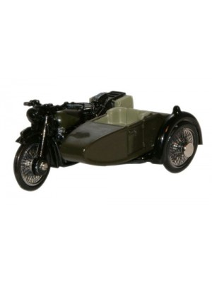 OXFORD DIECAST BSA Motorcycle Sidecar 34th Armoured Brigade