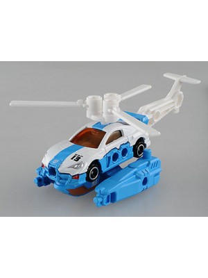 Takara tomy  特警隊車 HBP13 巡邏車+直升機