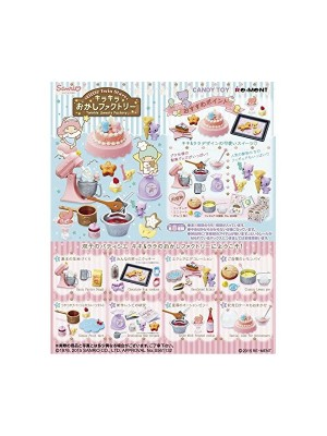 Re-Ment Little Twin Stars Sweets Factory (8 Pcs)