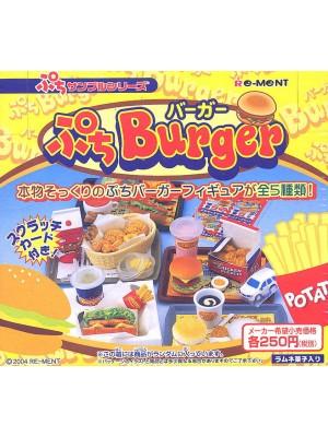 Re-Ment 漢堡系列