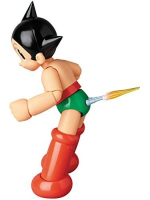 MAFEX Medicom Astro Boy No.65 Astro Boy Action Figure (Manga Original Edition)