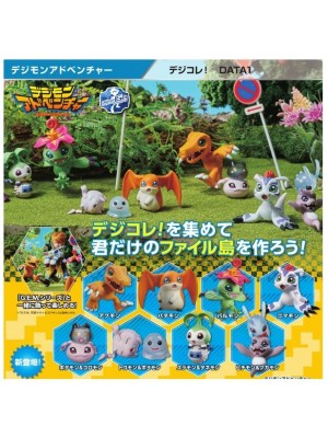 Digimon Adventure Digi Colle Data 1