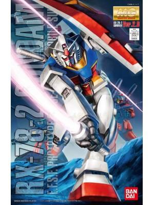 Bandai MG 1/100 RX-78-2 Gundam Ver.2.0  4543112555205