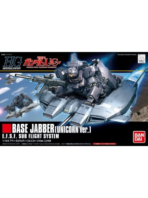 Bandai HG 1/144 Base Jabber(Unicorn Ver.) 4543112765109