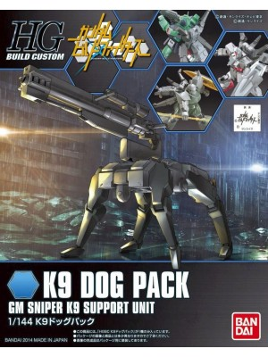 Bandai HG 1/144 K9 Dog Pack 4543112851826