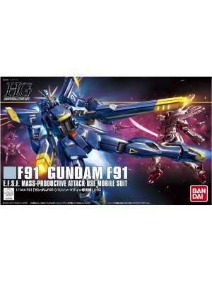 Bandai HG 1/144 F91 Gundam F91 4543112870889