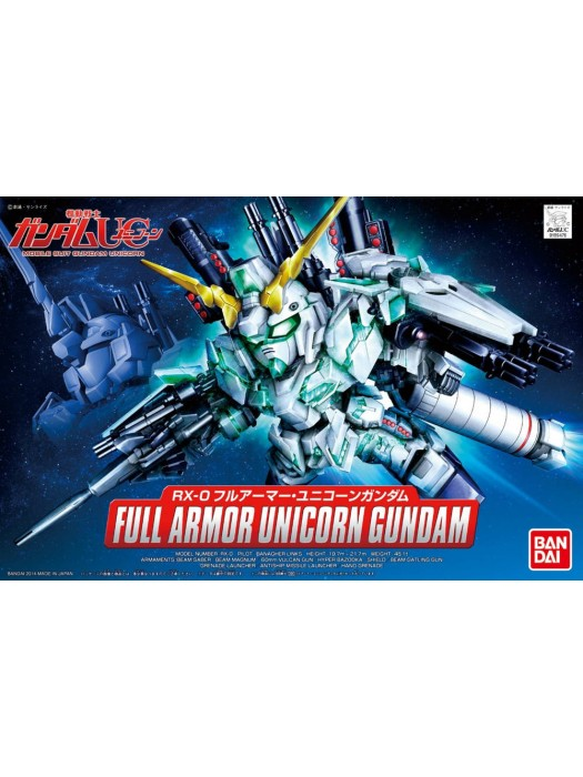 Bandai BB Full Armor Unicorn Gundam 4543112894762