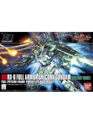 Bandai HG 1/144 RX-0 Full Armor Unicorn Gundam  4543112894878