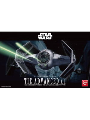 Bandai Star Wars 1/72 Tie Advanced x1  4543112914071