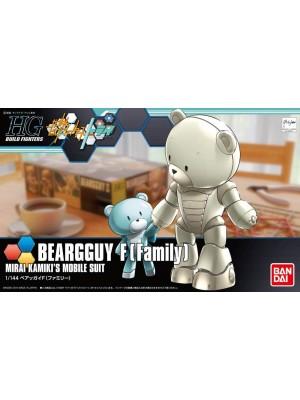 Bandai HG 1/144 Beargguy F(Family) 4543112943606