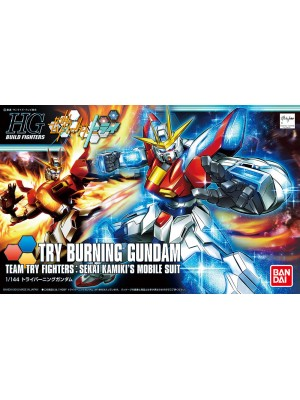 Bandai HG 1/144 Try burning Gundam 4543112959584