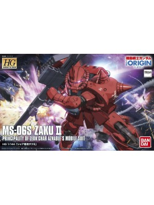 Bandai HG 1/144 MS-06S Zaku II 4543112964236