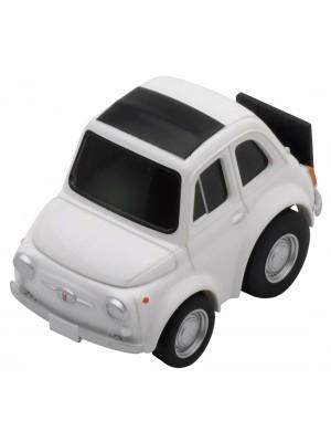 Choro Q Zero Z-26d Fiat 500f (White)