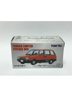 TOMYTEC TOMICA LIMITED VINTAGE NEO NISSAN PRAIRIE EXTRA JW-G LV-N115A 4543736278337