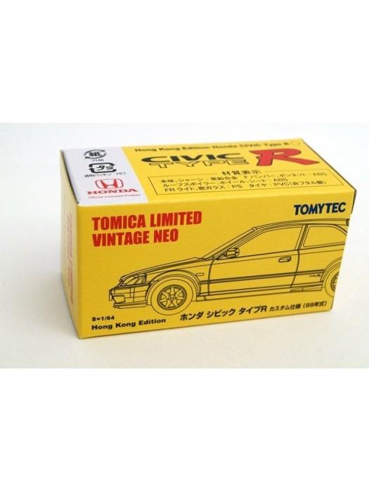 TL TOMYTEC TLV-CIVIC TYPE R 99 YELLOW (香港限定)