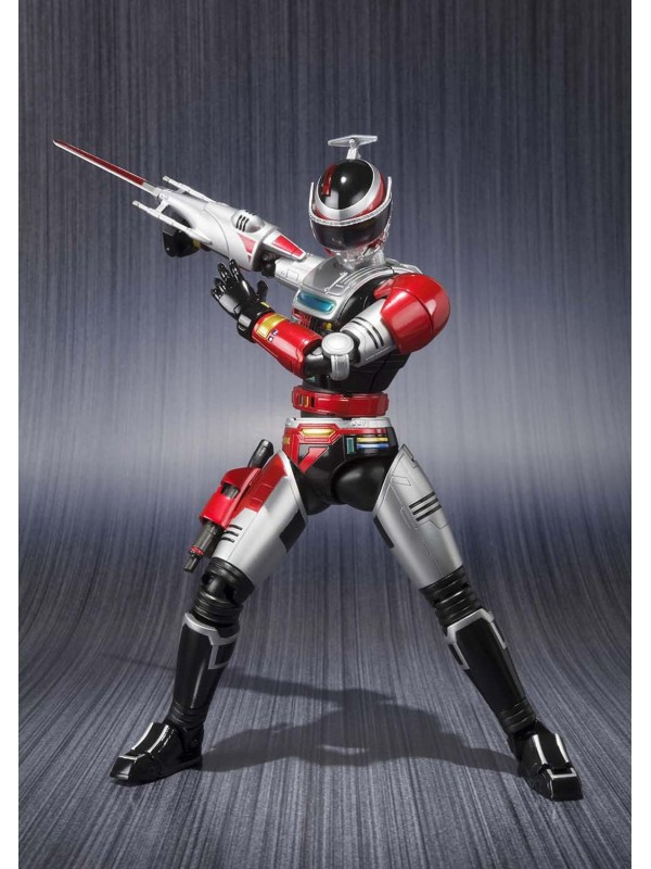 Bandai Tamashii Nations S.H. Figuarts  Special Rescue Police Winspector Fire 4549660018582