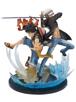 FIGUARTS ZERO MONKEY D. LUFFY & TRAFALGAR LAW - 5TH ANNIVERSARY EDITION 4549660022541