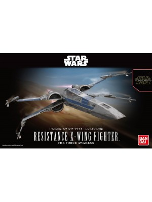 Bandai Star Wars  1/72 Resistance X-Wing Fighter 4549660022893