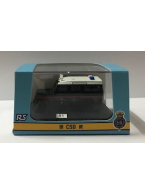76DEF016HH5 HONG KONG POLICE CAR (HONG KONG LIMITED EDITION) 4897077242275