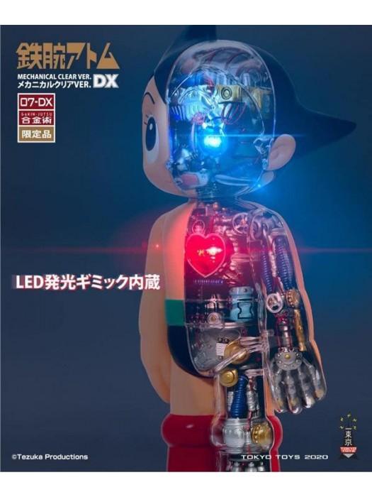 TZKA-007-DX 合金術機械透視阿童木 DX VER. (23CM高)