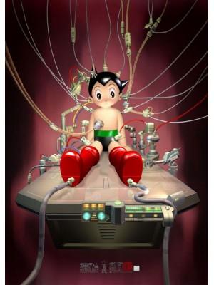 香港動漫電玩節 2016 TZKAP-002 美術印刷 Tezuka Astro Boy 小飛俠「鉄腕アトム」- 《整裝待發》 海報 4897077245931