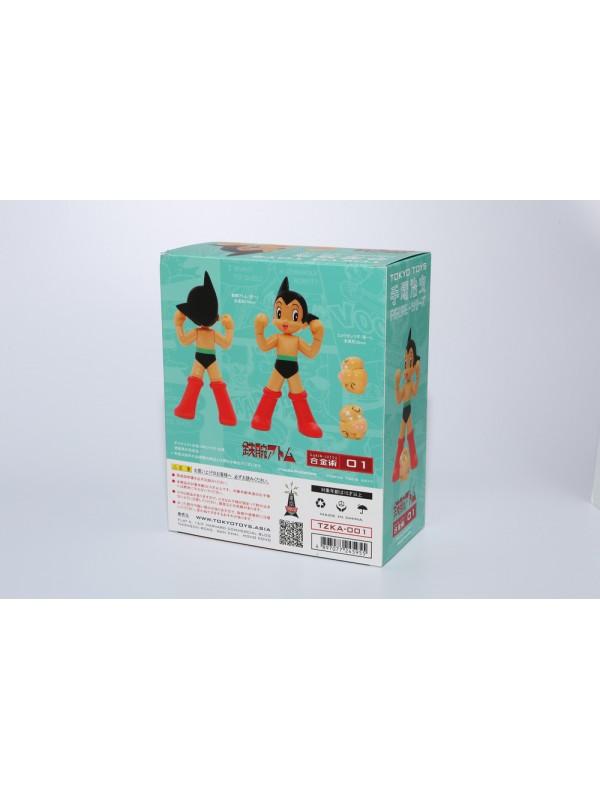 TZKA-001 The Tezuka's Series - Alloy Toy Figure - 原子小金剛 ATOM & 菇 Hytitansugi 4897077245955