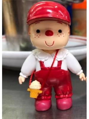 雪糕仔 7cm 高 -紅色