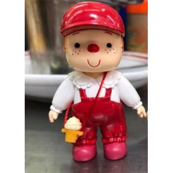 雪糕仔 2.5cm 高 -紅色