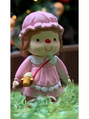 雪糕妹 7cm 高 -粉紅色