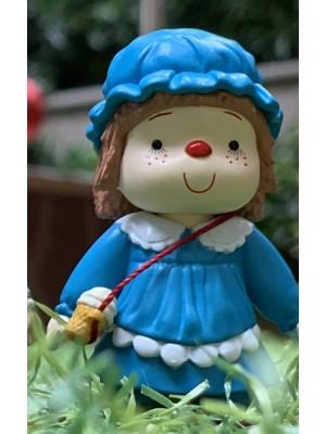 雪糕妹 7cm 高 -藍色