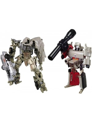 Transformers Chronicle CH-02 G1 Megatron and DOTM Movie Megatron
