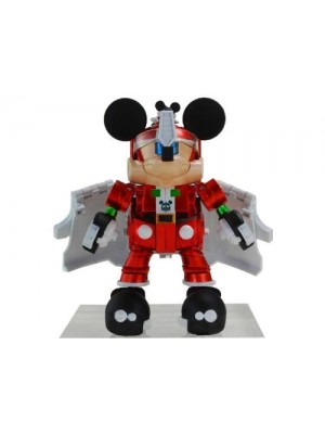 Transformers Mickey Mouse Trailer Exclusive Chromed Christmas Version