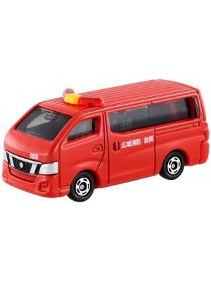 TOMICA NO.027 NISSAN CARAVAN FIRE CHIEF 4904810467489