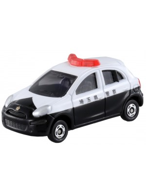 TOMICA NO.017 NISSAN MARCH POLICE CAR  4904810471219