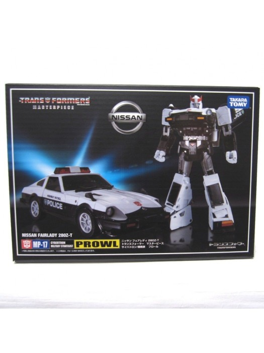 Takara Tomy Transformers Masterpiece MP-17 Prowl Nissan Fairlady 280Z-T