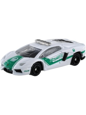 TOMICA NO.087 LAMBORGHINI AVENTADOR LP700 DUBAI POLICE CAR 4904810801023