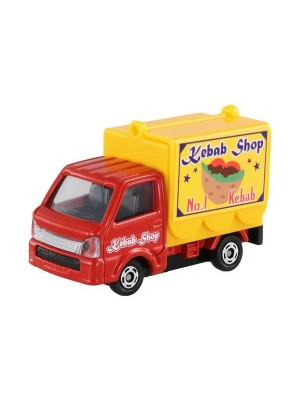TOMICA NO.057 SUZUKI CARRY FOOD VANS (KEBAB) 4904810801252