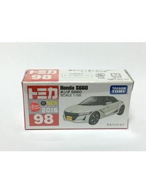 TOMICA NO.098 HONDA S660 4904810824961