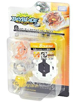 Beyblade Burst B-03 Starter Ragunaruku Heavy Survive 4904810833291