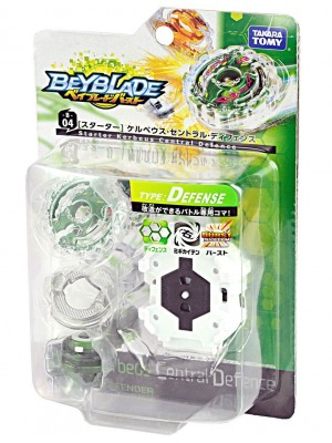 Beyblade Burst B-04 Starter Cerberus Central Defense 4904810833307