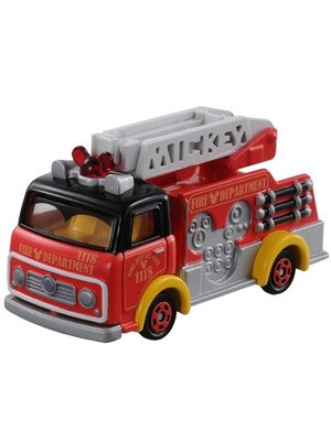 DISNEY MOTORS DM-17 MICKEY MOUSE FIRE TRUCK 4904810835035