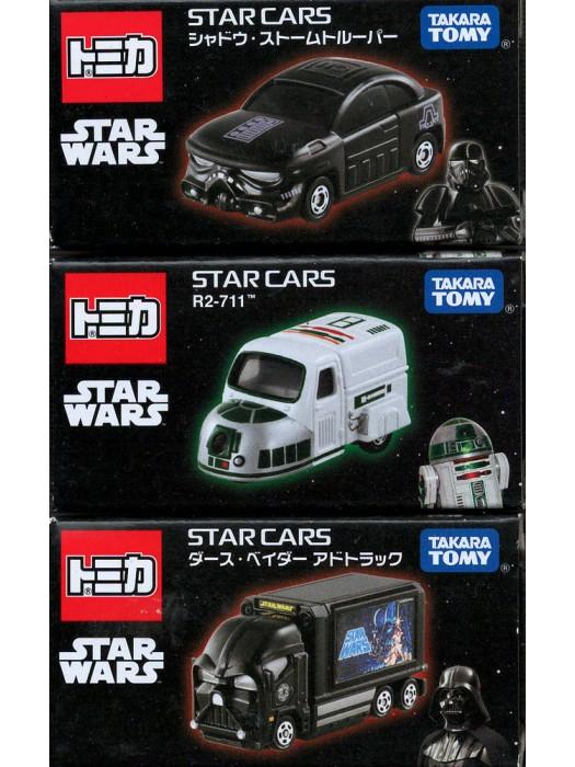 STAR WARS STAR CARS SET 4904810843368