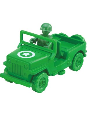 Tomica Toy Story 05 green army men & military truck