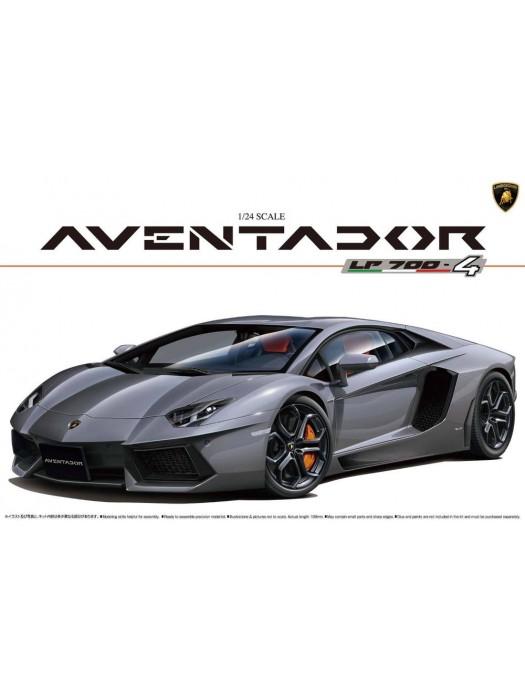 Aoshima 1/24 Lamborghini Aventador LP700-4 4905083001424
